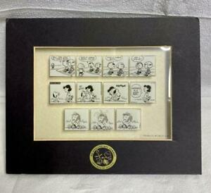 Very Rare 60th Anniversary Peanuts Limited Edition Laser Cel