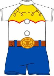 Girls Toy Story Jess UV Swimsuit Sunsafe Surf Suit Swimwear Age 2-3 Yrs