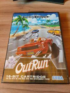 Sega Megadrive Outrun Pal Complete