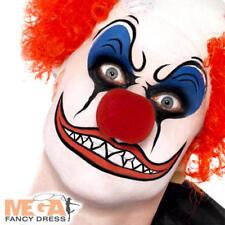 Clown Make Up Kit Adults Fancy Dress Carnival Circus Fun Costume Face Paint Set