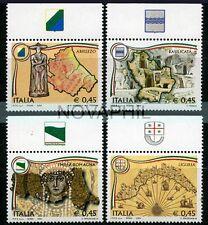 ITALIA 2004 -  REGIONI D'ITALIA  SERIE CON APPENDICE **
