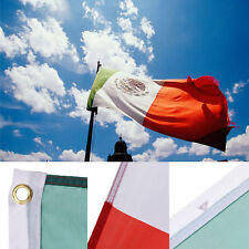3 x5 FT Polyester MEXICO FLAG Mexican Country Soccer Outdoor Banner Grommets