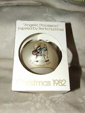 1982 Schmid Berta Hummel 9th Angelic Procession Christmas Xmas Glass Ornament