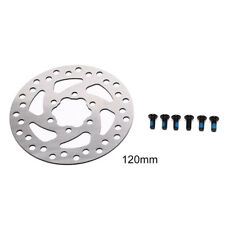 120mm stainless steel rotor disc for mountain road cruiser bike bicycle partsTE