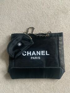 Chanel Vip Mesh Bag With Pouch