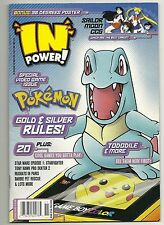 2000 Pokemon In Power Magazine Tododile Wizard Publication.#8