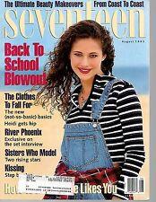 Seveenteen Magazine--Aug. 1993-----63