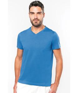 Kariban Short Sleeve V-Neck T-Shirt
