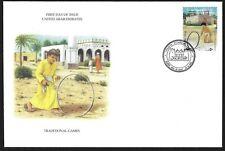Uae 1995 Dubai Kinder Bei Play FDC Selten Bunte Cachet