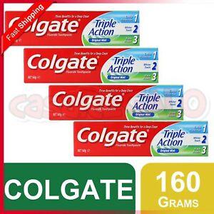 COLGATE TOOTHPASTE TRIPLE ACTION ORIGINAL MINT 160g