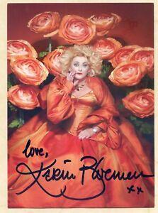 Karin Bloeman (NL) - original signierte Autogrammkarte 15x21m