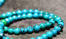 new 8mm blue Azurite Chrysocolla Gemstones Round Loose Beads 15""
