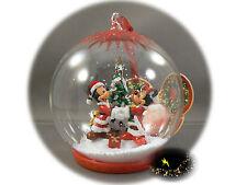 Disneyland Paris - Mickey & Minnie - Christmas Ornament - Map of the 2 Parks