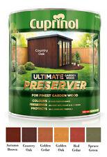Cuprinol Ultimate Garden Wood Preserver 1 Litre 6 COLOURS