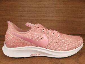 Nike Air Zoom Pegasus 35 Pink White Running Shoes Train 942855-603 Womens Sz 10