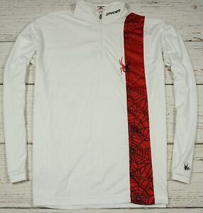 SPYDER SKI 100 % Polyester MEN'S Base Layer Top Shirt Size XL 54