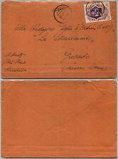 REGNO-ROCCASTRADA muto+lineare 28.10.1942-50c Galileo (464) su busta x Grosseto