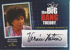 The Big Bang Theory Season 5 Vernee Watson As Althea Authentic Autograph Card