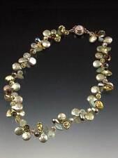 Fantasy Precious Cluster Necklace Bess Heitner Royal Sage