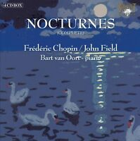 BART VAN OORT - CHOPIN/FIELD:NOCTURNES 4-CD 4 CD NEW CHOPIN,FREDERIC/FIELD,JOHN