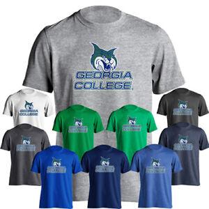 Georgia College and State University GCSU Bobcats Name and Mascot Logo T-Shirt