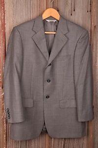 Pronto Uomo 40S Black and White Sport Coat Jacket Men's Dress Button