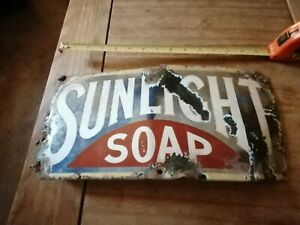Original Sunlight Enamelled Sign