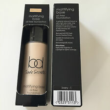 Bd Trade Secrets Mattifying Base Oil Free Foundation Ivory