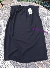 Black Zara Dress Shoulder Pads L Large 12 New