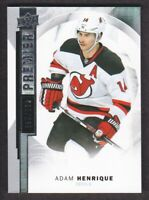 2015-16 Upper Deck Premier Hockey #13 Adam Henrique /399 New Jersey Devils