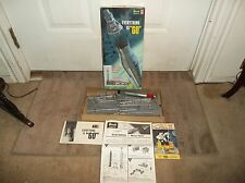 Vintage 1962 Revell Mercury Capsule and Atlas Booster Launching Base Kit