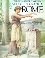 A Coloring Book of Rome by Bellerophon Books -Paperback