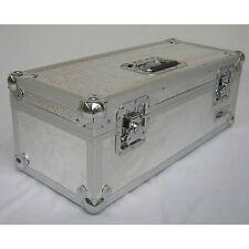 "NEO LP 300 7"" SILVER VINYL LP RECORD ALUMINIUM STORAGE BOX / DJ CASE"