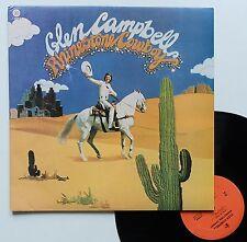 "Vinyle 33T Glen Campbell  ""Rhinestone cowboy"""
