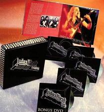 JUDAS PRIEST METALOGY - 5 Disc, 4cd +1dvd, with STUDS, REMASTERED LimitedEdition