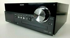 New listing Sony Cmt-Mx500i Micro Hi-Fi Stereo System iPod Dock Cd Player No Remote Works