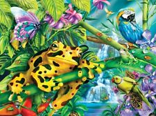 Jigsaw Puzzle Animal Wild Rainforest Friends 100 pieces NEW Made in USA