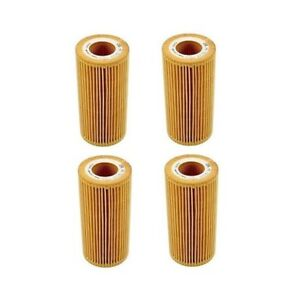 For Maybach 57 62 Mercedes CL600 CL65 AMG S65 AMG 4 Oil Filters MANN 2751800009