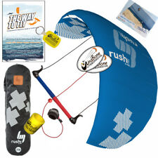 HQ4 Rush Pro V 300 3M Trainer Kite Kiteboarding Surf Snow + The Way To Fly DVD