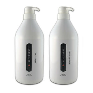 SENZU : Shampoo + Conditioner - 1000ml 1 Litre Pump Bottles by Pure Essense