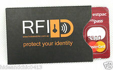 RFID Security Sleeve x 10 for Credit Card. Protect Your Card Details.Top Quality