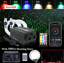 370Pcs Car Headliner Roof Star Ceiling LED Fiber Optic Light w/ Shooting Meteor