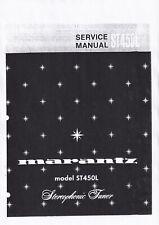 Service Manual-Anleitung für Marantz ST-450 L