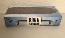 "Portuguese Skateboard Bible Paperback Plastic Cover 6.5""x3.5""x1"" Biblia Sagrada"