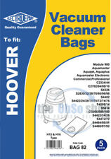 5 x HOOVER Vacuum Cleaner Bags H15 & H16 Type AQUAJET, AQUAMASTER, AQUAPLUS