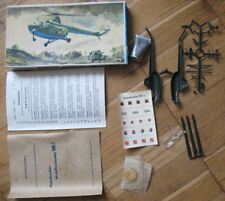 Russian Air Craft Plastic Model Mi 1 Helicopter Copter Glue Puzzle Plasticart
