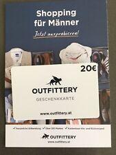 OUTFITTERY Geschenkkarte Gutschein über 20 Euro