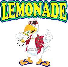 Lemonade DECAL (Choose Your Size) Duck Concession Food Truck Vinyl Sticker