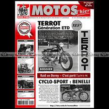 MOTOS D'HIER N°104 TERROT 125 ETD CYCLO-SPORT BENELLI 50 TANDEM DERNY