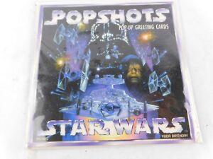 Star Wars Popshots Pop Up Greeting Card Yoda Birthday New Sealed 1997